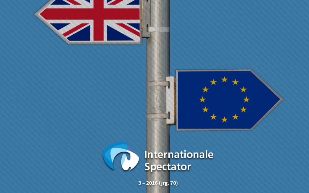 Consequenties van een Brexit voor het Europees veiligheids